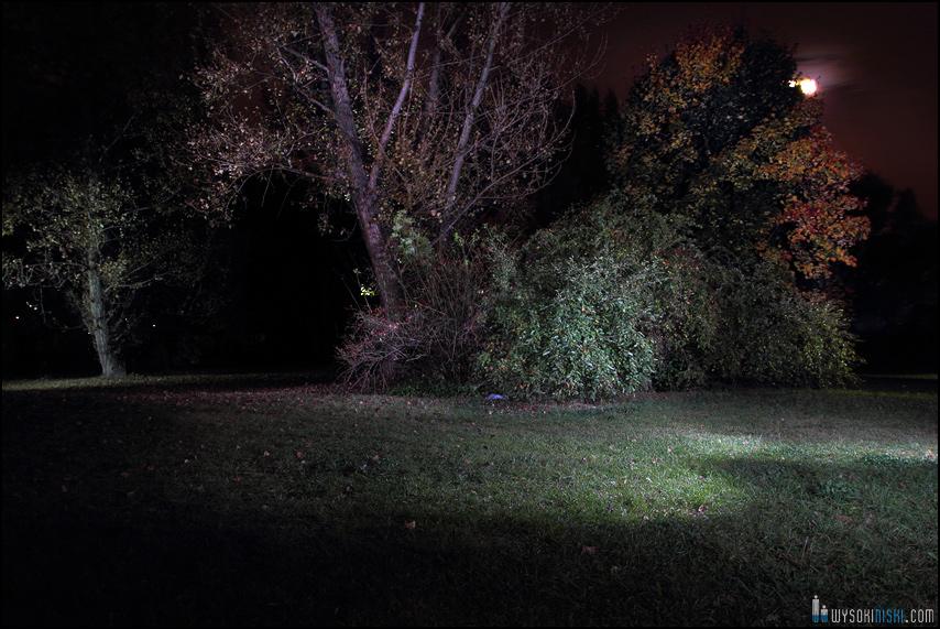 Fotografia krajobrazowa z oświetleniem multiplikowanym- Służew nad dolinką