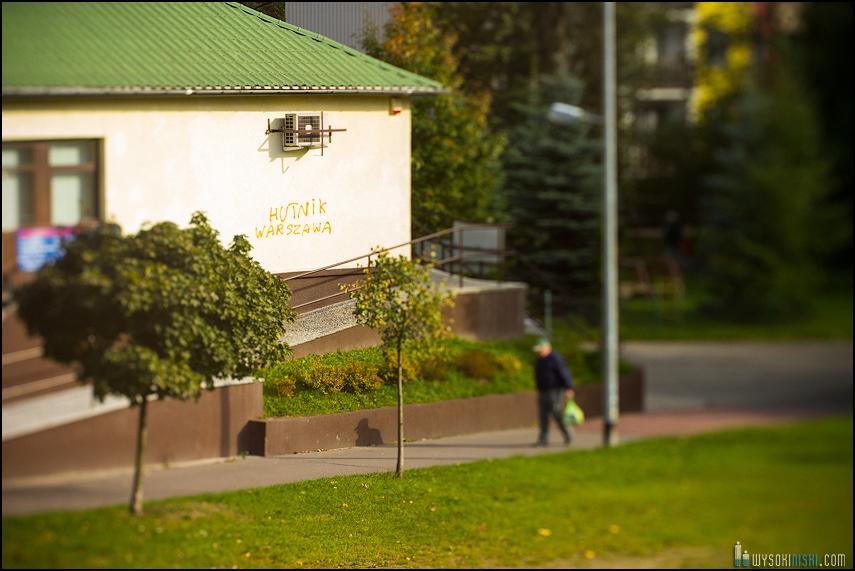 Chomiczówka- blokowe osiedle w Warszawie, zdjęcia test adaptera tilt-shift (32)