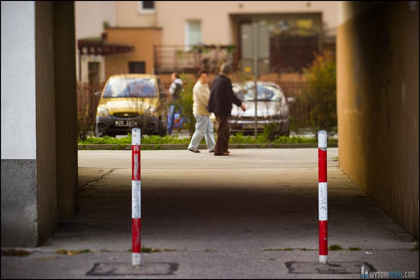 Chomiczówka- blokowe osiedle w Warszawie, zdjęcia test adaptera tilt-shift (28)