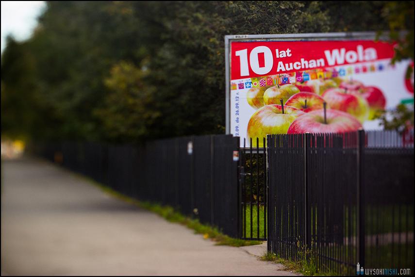 Chomiczówka- blokowe osiedle w Warszawie, zdjęcia test adaptera tilt-shift (24)