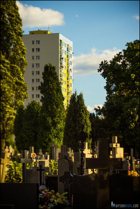 Chomiczówka- blokowe osiedle w Warszawie, zdjęcia test adaptera tilt-shift (16)