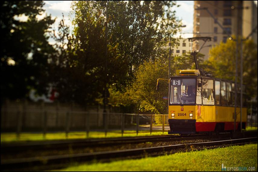 Chomiczówka- blokowe osiedle w Warszawie, zdjęcia test adaptera tilt-shift (15)