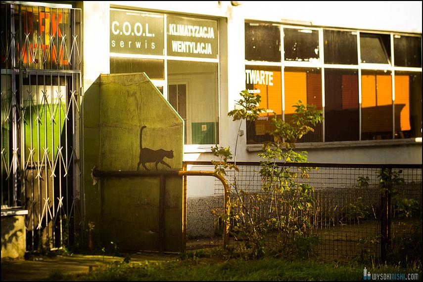 Chomiczówka- blokowe osiedle w Warszawie, zdjęcia test adaptera tilt-shift (12)