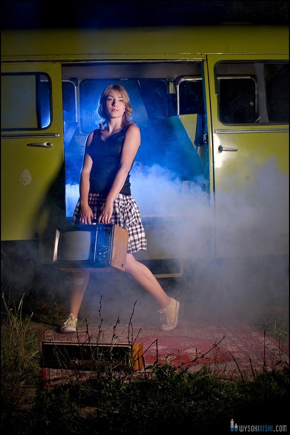 Zdjęcie dziewczyny z Nysą zieloną