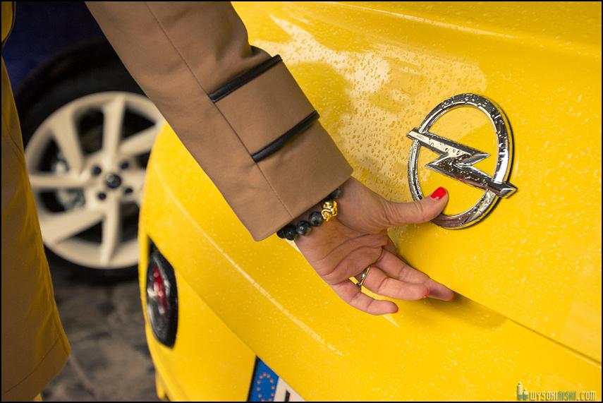 Opel Adam, sesja zdjęciowa dla VU Mag