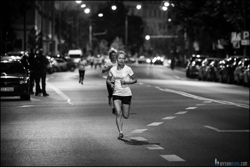 bieganie nocą