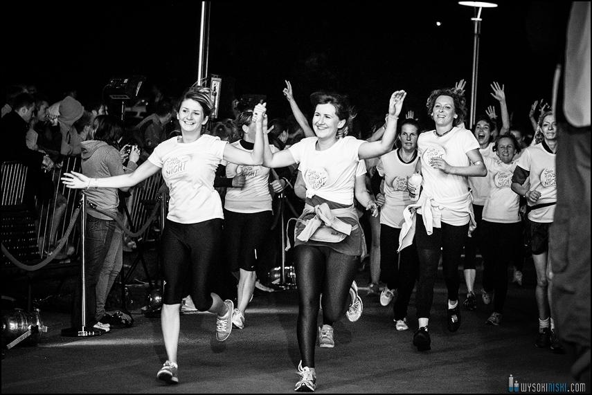 linia mety, biegi dla kobiet