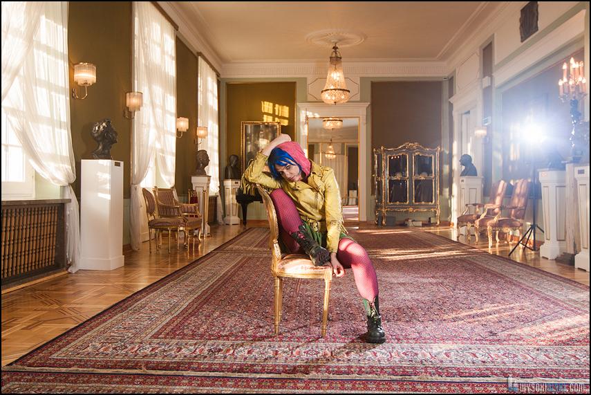 Anna Cieślak- sesja zdjęciowa w Teatrze Polskim