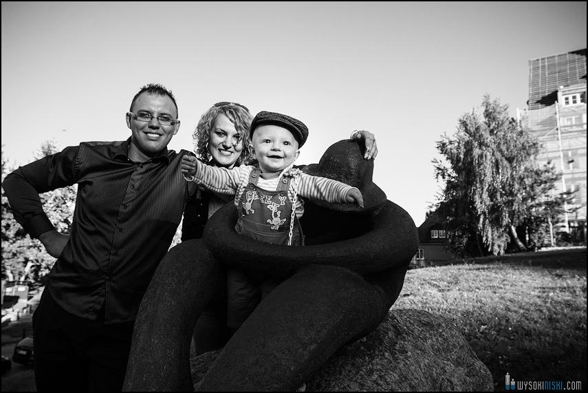 betonowa postać zdjęcia rodzinne