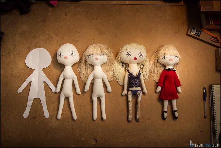 Jak powstają lalki w Laloushce