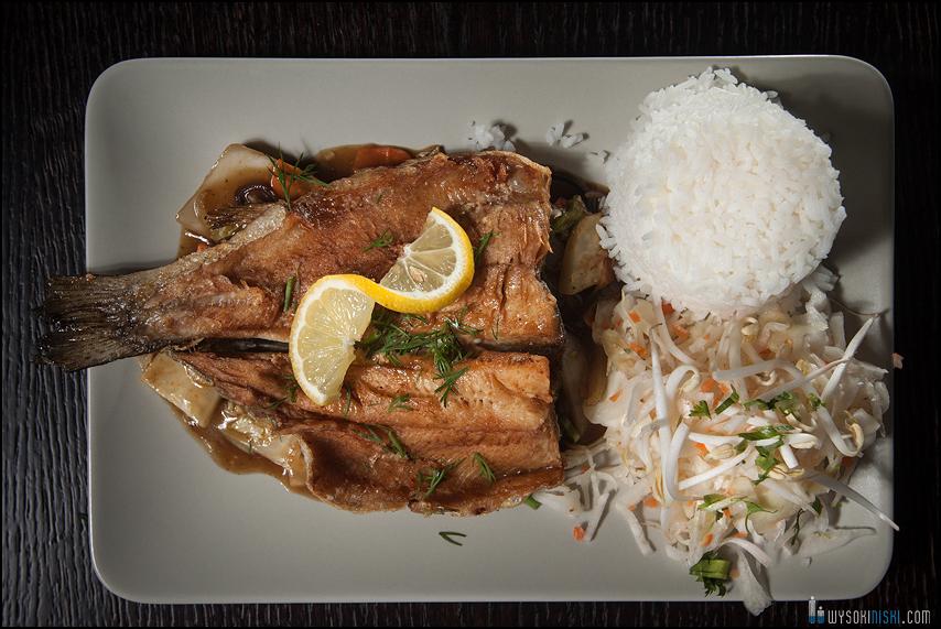 zdjecia jedzenia warszawa: filet rybny