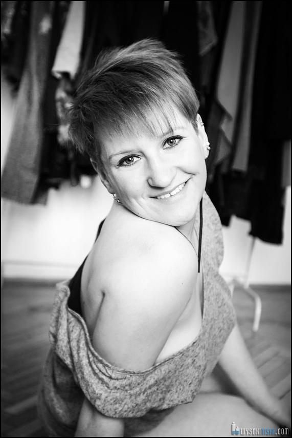 Zdjęcia czarno białe - portret