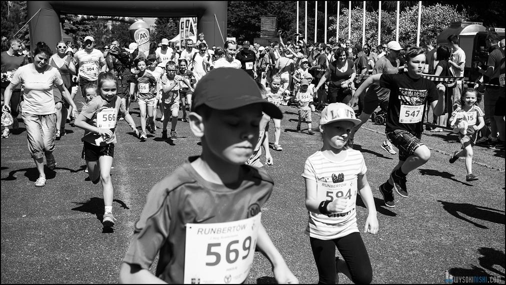 bieg dziecięcy