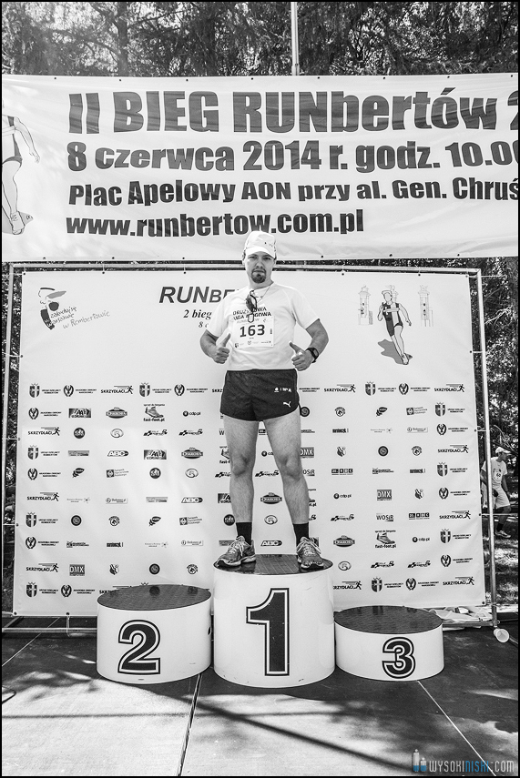 Runbertów podium