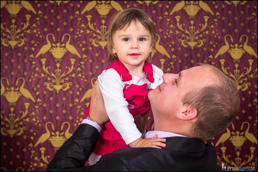 sesja zdjęciowa ojciec i córka