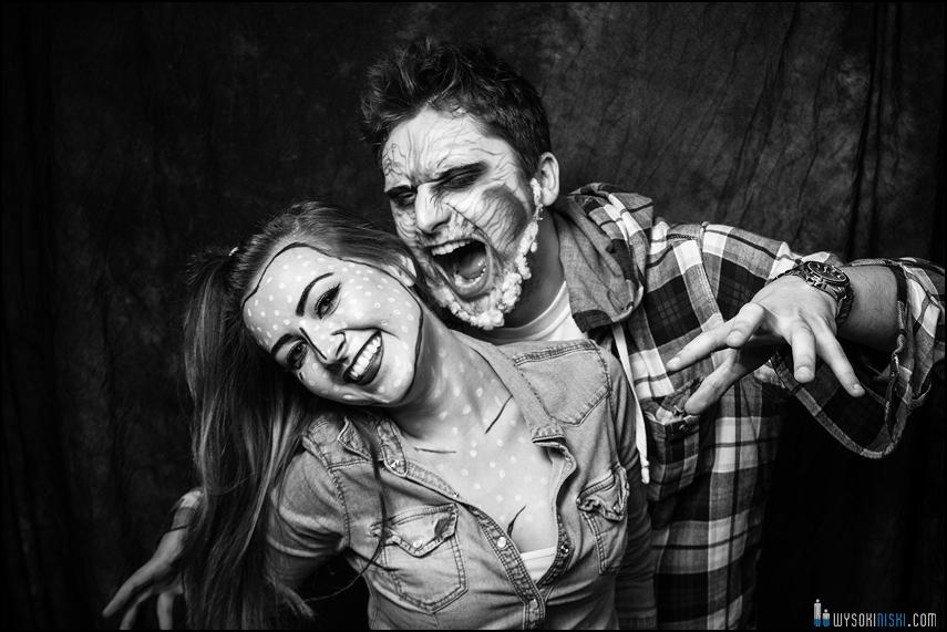 wilkołak- przebranie halloween