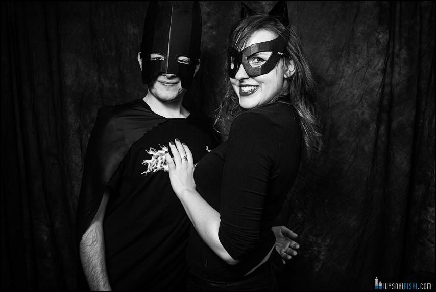 batman i kobieta kot