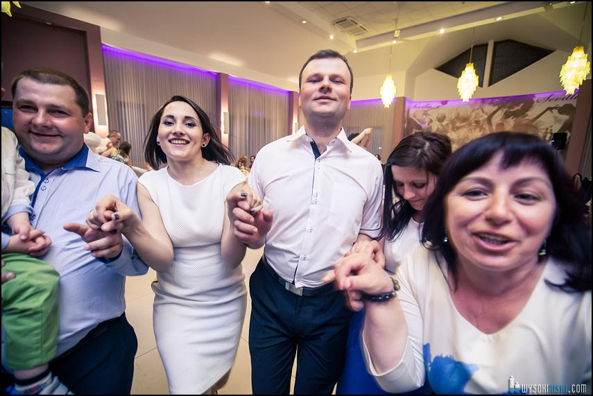 chrzest tańce