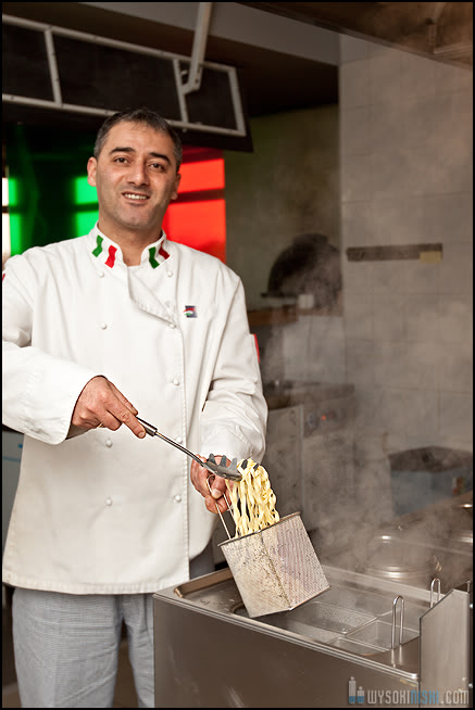 zdjęcia pracowników warszawa, szef kuchni