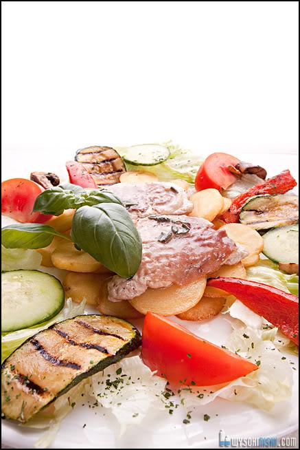 fotografia produktu żywność w restauracji włoska robota