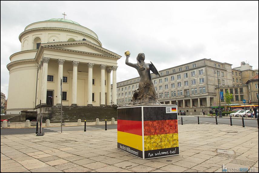 krajobrazy z Warszawy, czerwiec 2012