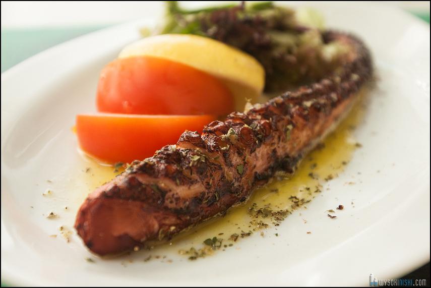 Fotografowanie żywności, kuchnia grecka w restauracji El Greco w Warszawie (5)