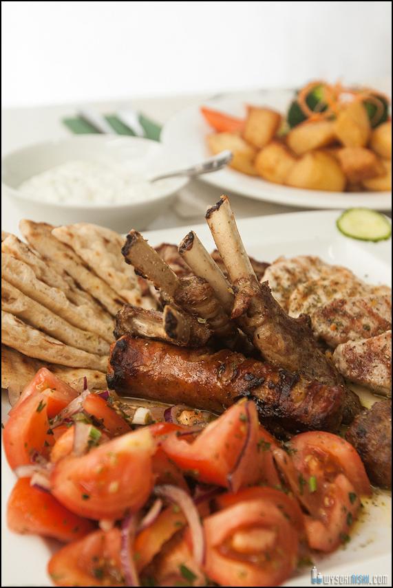 fotografia żywności, kuchnia grecka w restauracji El Greco w Warszawie (3)