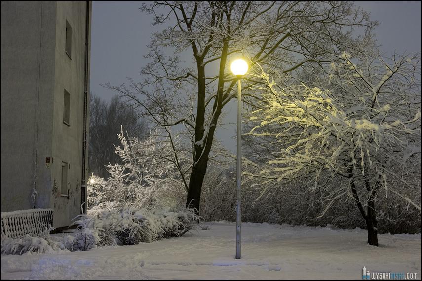 Śnieg na wiosnę, Wielkanoc 2013, Warszawa, Chomiczowka Wawrzyszew las (2)