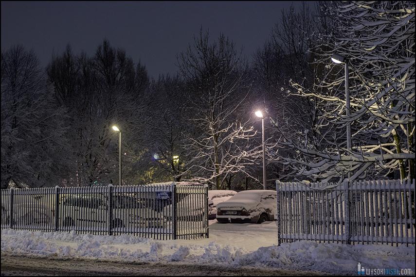 Śnieg na wiosnę, Wielkanoc 2013, Warszawa, Chomiczowka Wawrzyszew las (5)