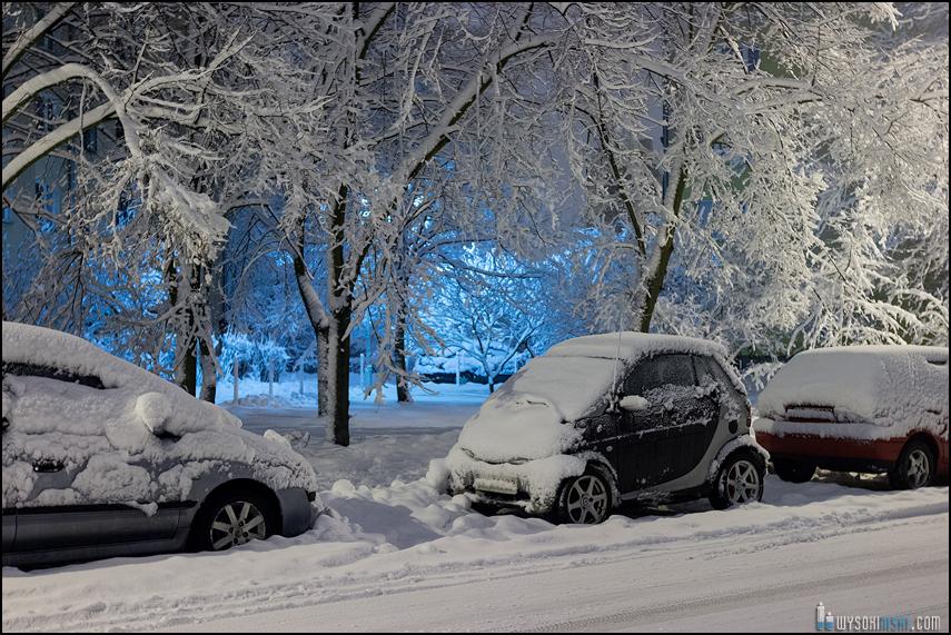 Śnieg na wiosnę, Wielkanoc 2013, Warszawa, Chomiczowka Wawrzyszew las (7)