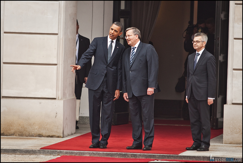 Obama Komorowski rozmowa