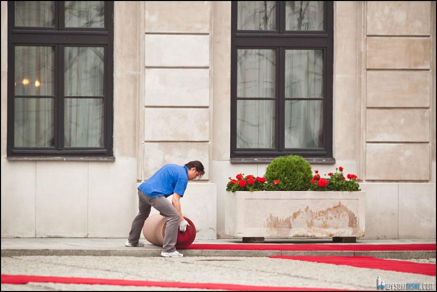 Red Carpet for Obama