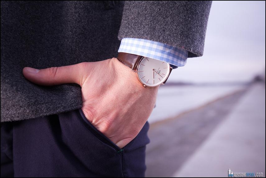 moda męska zegarek