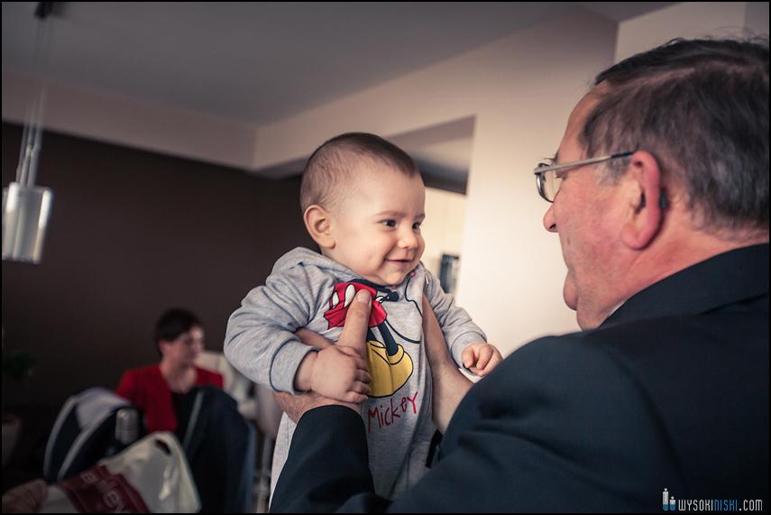 wnuk i dziadek