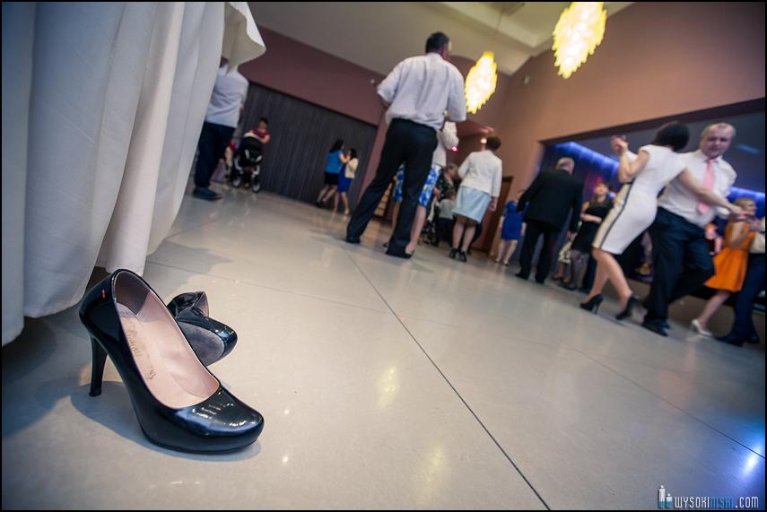 buty tańce sala