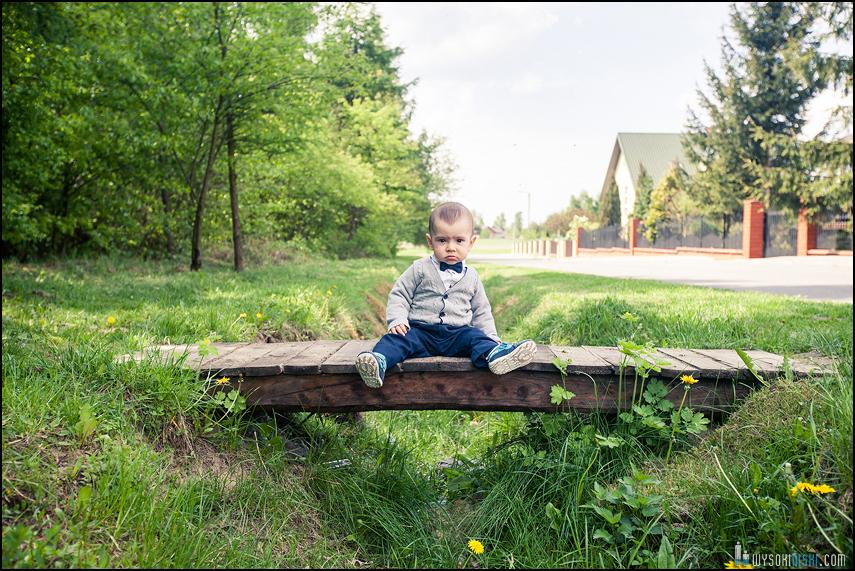 fotograf Rawa Mazowiecka chłopiec na moście